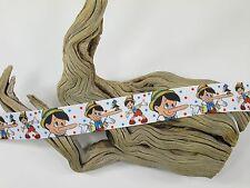 "BTY 7/8"" Pinocchio Grosgrain Ribbon Hair Bows Sewing Crafts Scrapbooking Lisa"