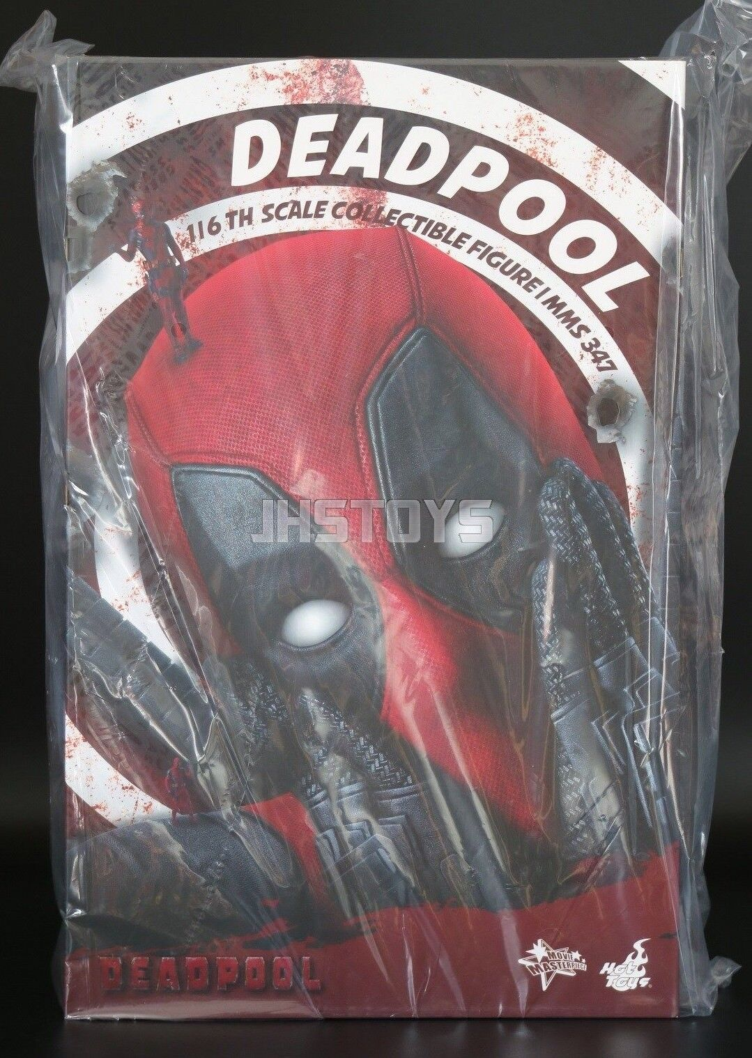 Hot Toys 1/6 Deadpool Dead Pool Ryan Reynolds MMS347