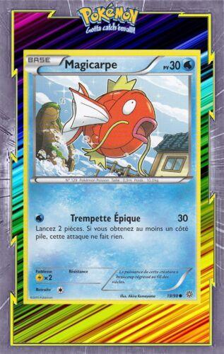 Carte Pokemon Neuve Française 19//98 XY07:Origines Antiques Magicarpe