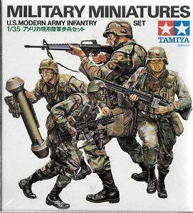 Tamiya US Modern Army Infantry, Figures in 1/35 133 ST CA