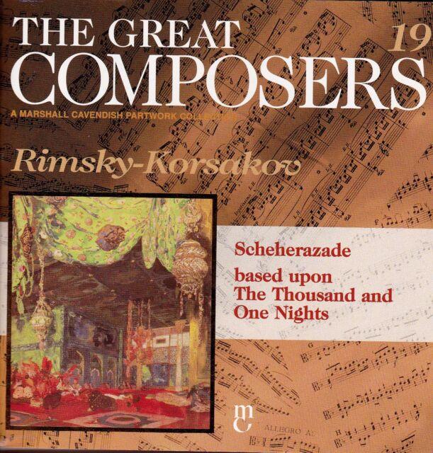 THE GREAT COMPOSERS #19 -  Rimsky-Korsakov: Scheherazade CD