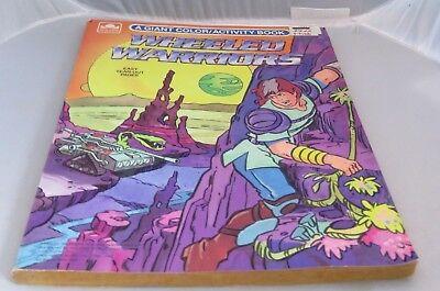 "1986 Mattel Gerädert Krieger Riese Färbung Activity Book "" Ungebraucht Figuren"