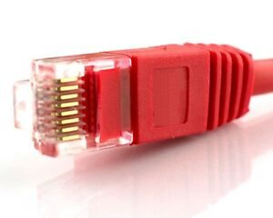 CAT5e 1 or 6 meter Red Cable Ethernet Lan Network CAT5 RJ45 Patch Internet cord