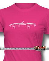 Chevrolet Corvette 1969 Convertible Women T-shirt - Multiple Colors And Sizes