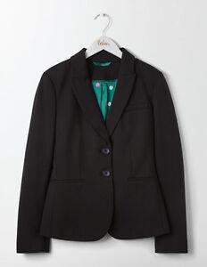 Lf078 Ponte Elizabeth Boden 16 8 Size Blazer Black Uk Ii SqZZFAw