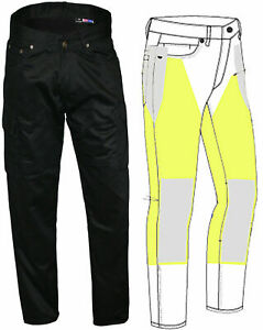 NEW-MOTORCYCLE-CARGO-JEANS-REINFORCED-WITH-DuPont-KEVLAR-ALL-SIZES-amp-COLORS