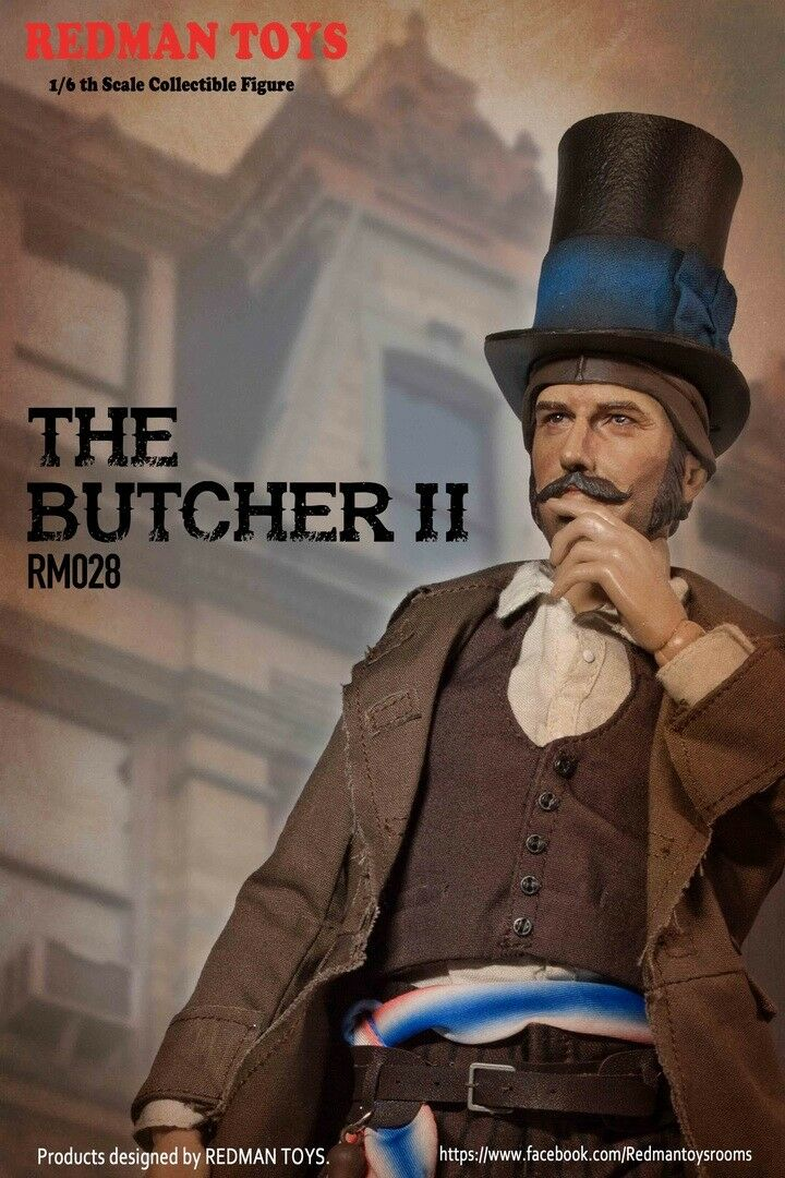 REDMAN TOYS 1 6  The Butcher II RM028 Collectible Action Figure Pre-order