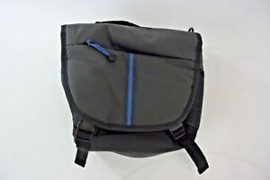 Insignia-Medio-Camara-Bolso-para-el-Hombro-Azul-Gris-oscuro