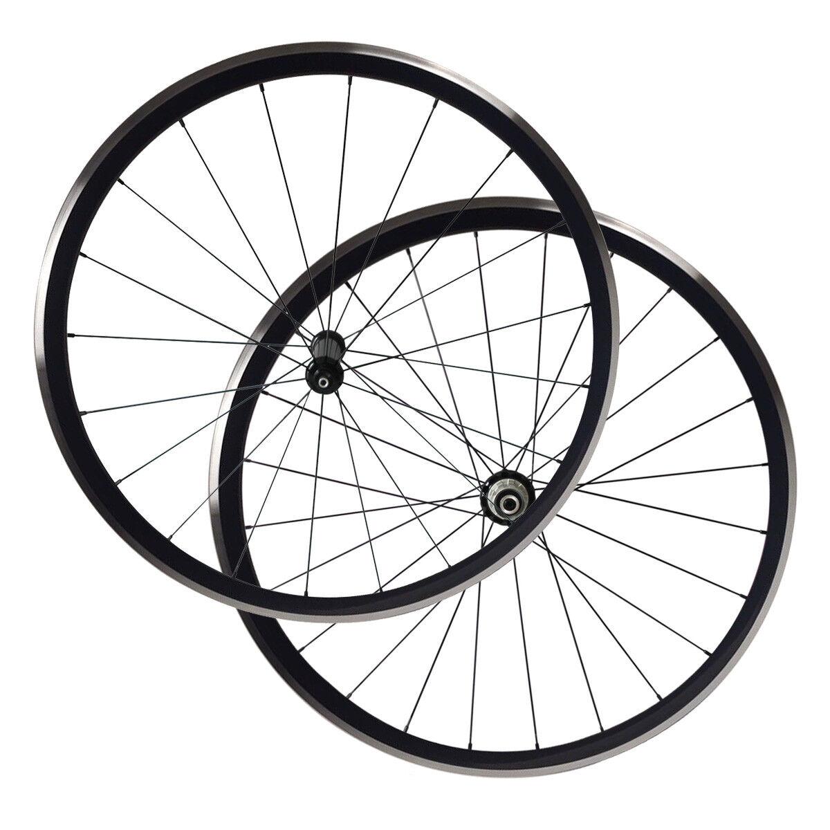 Road Bike Wheel Set Kinlin XR300 30mm Clincher 19mm Width Alloy Wheel Set