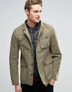 Parka-London-Arthur-Jacket-with-detachable-Insert-khaki-Size-Medium-RRP-175