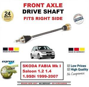 Pour-Skoda-Fabia-Berline-1-2-1-4-1-9SDi-1999-2007-Neuf-Essieu-avant-Droit-Arbre