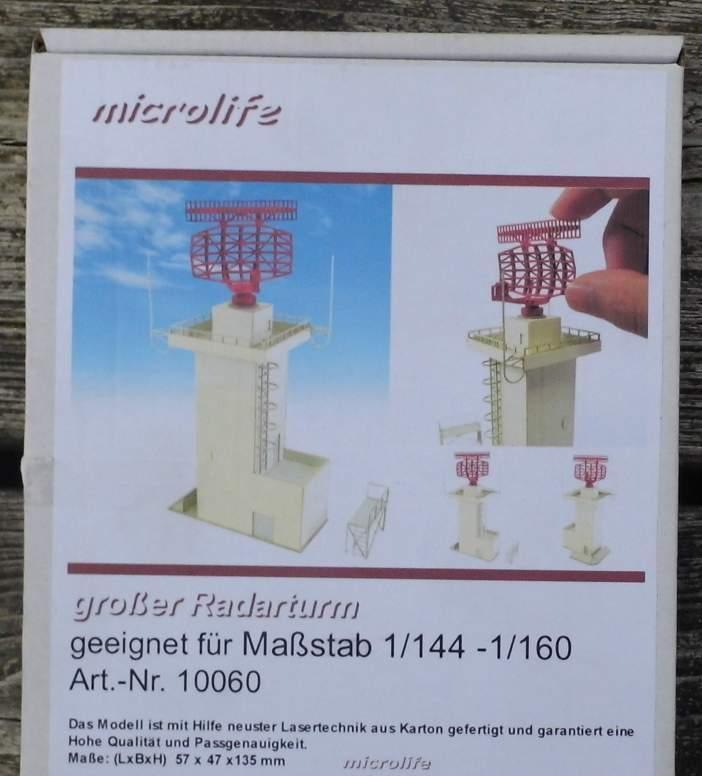 Großer Radarturm  - von Microlife Lasercut Bausatz 1 144-1 160 Spur N  | Öffnen Sie das Interesse und die Innovation Ihres Kindes, aber auch die Unschuld von Kindern, kindlich, glücklich