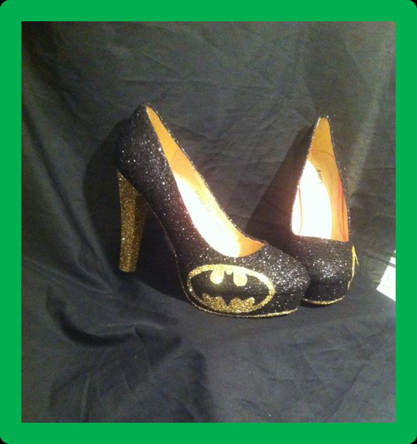 * * * DC Batman Chaussures/talons * * * UK Tailles 2.5 - 8 * * *