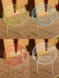 Vintage Metal Chairs Tables Retro Modern Style Atomic