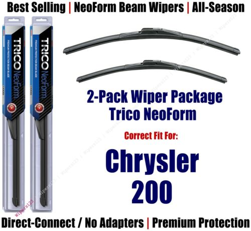 Chrysler 200-16260//190 2-Pack Super-Premium NeoForm Wipers fit 2015