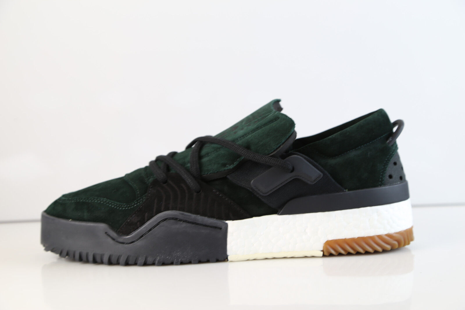 Adidas Alexander Wang AW BBALL Low Low Low verde Suede nero DA9309 8-12 boost 43ab9f