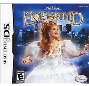 Enchanted Nintendo DS/DS Kids Game For Girls Disney Princess Collectible