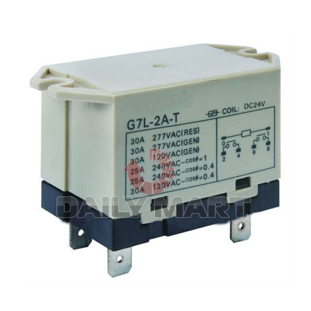 New Omron power relay G7L-2A-T Spot 200-240VAC