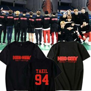 Details about KPOP NCT127 NEO CITY SEOUL The Origin World Tour 2019 Concert  T-Shirt Tee Tops