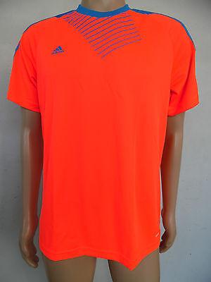 Herren Adidas Funktionshirt Predator T-Shirt Kurzärmelig Laufshirt  orange  NEU