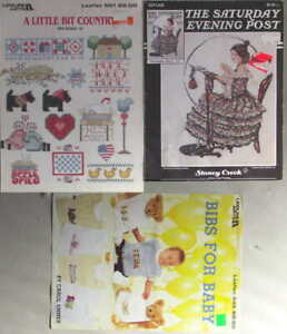 Various Cross-Stitch Projects