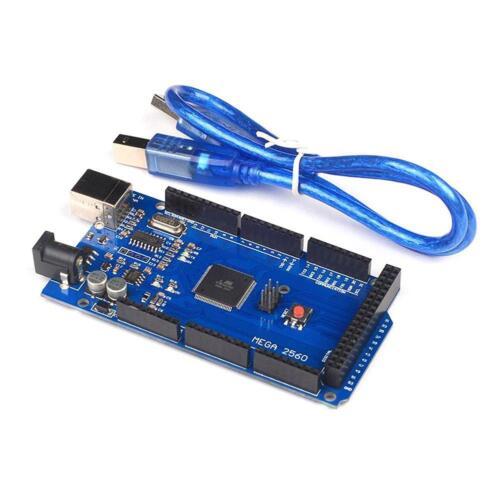 HOT ATmega2560-16AU ATMEGA16U2 Board+USB Cable for MEGA2560 DE