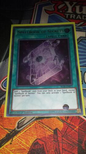 BLLR-EN075 Spellbook of Secrets 1st Edition M//NM Yugioh Ultra Rare