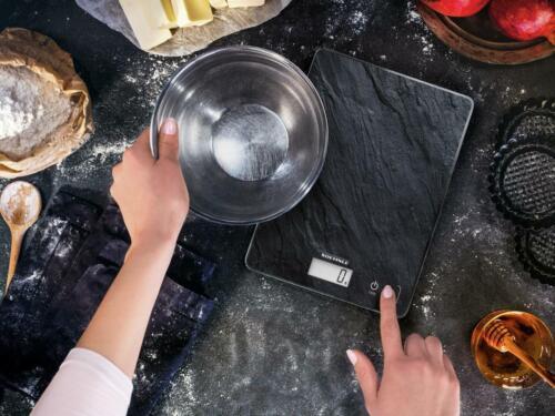 Soehnle Bilancia Da Cucina Page Compact 300 Slate Vetro Ardesia 61515-Soe