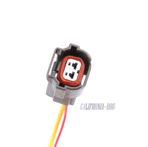 06A973722 Fuel Injector Connector Plug w// Wire 2Pin For VW AUDI A4 A6 Skoda Seat