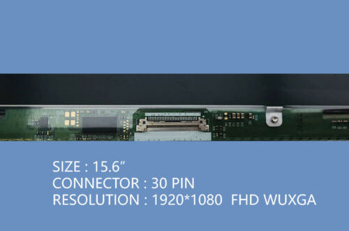 "NV156FHM-N42 New 15.6/"" Slim MATTE LED LCD Screen FHD 1920x1080 WUXGA 30pin eDP"