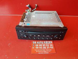 CITROEN-C2-C3-PEUGEOT-206-307-AUTORADIO-POSTE-CD-REF-9636597577