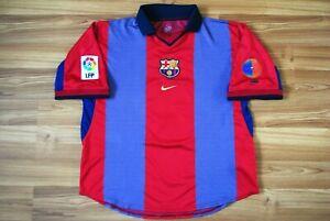 7-LUIS-FIGO-BARCELONA-2000-2001-HOME-FOOTBALL-SOCCER-SHIRT-JERSEY-CAMISETA-RARE