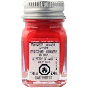 Testors Flat Red Enamel Paint 1 4oz Bottle 1150 Ebay