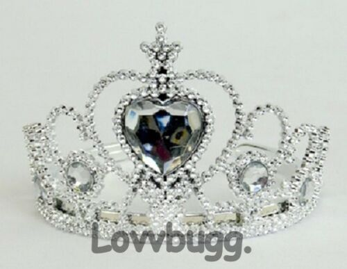 "Purple Heart Tiara Crown for American Girl 18/"" Doll Accessory LOVVBUGG HAS IT!"