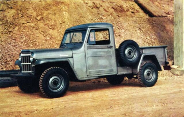 Willys Jeep Truck For Sale >> Old Print 1954 Willys Jeep 1 Ton Truck Auto Ad