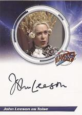 "Blakes 7 - S1JL2 John Leeson ""Toise"" Auto / Autograph Card"