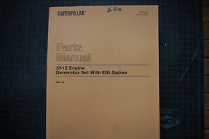 caterpillar 3512 engine manual