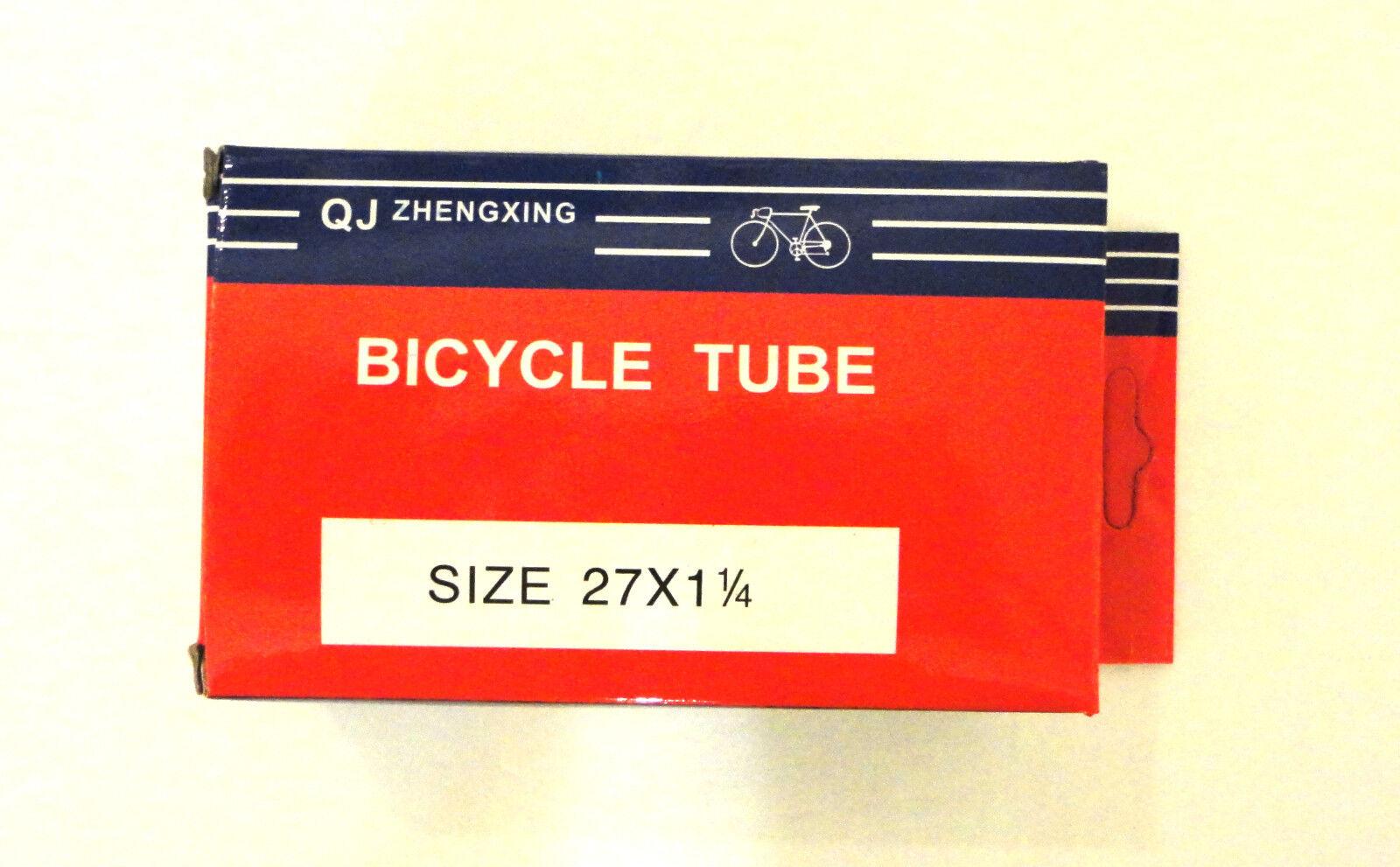 27  inches x 1.25  Bicycle Tube Interior Bike Tire Inner tube 27 x 1  1 4  New