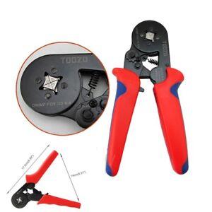 Ratchet-Ferrule-Crimper-Plier-Crimping-Tool-Cable-Wire-Electrical-Terminals-Kit