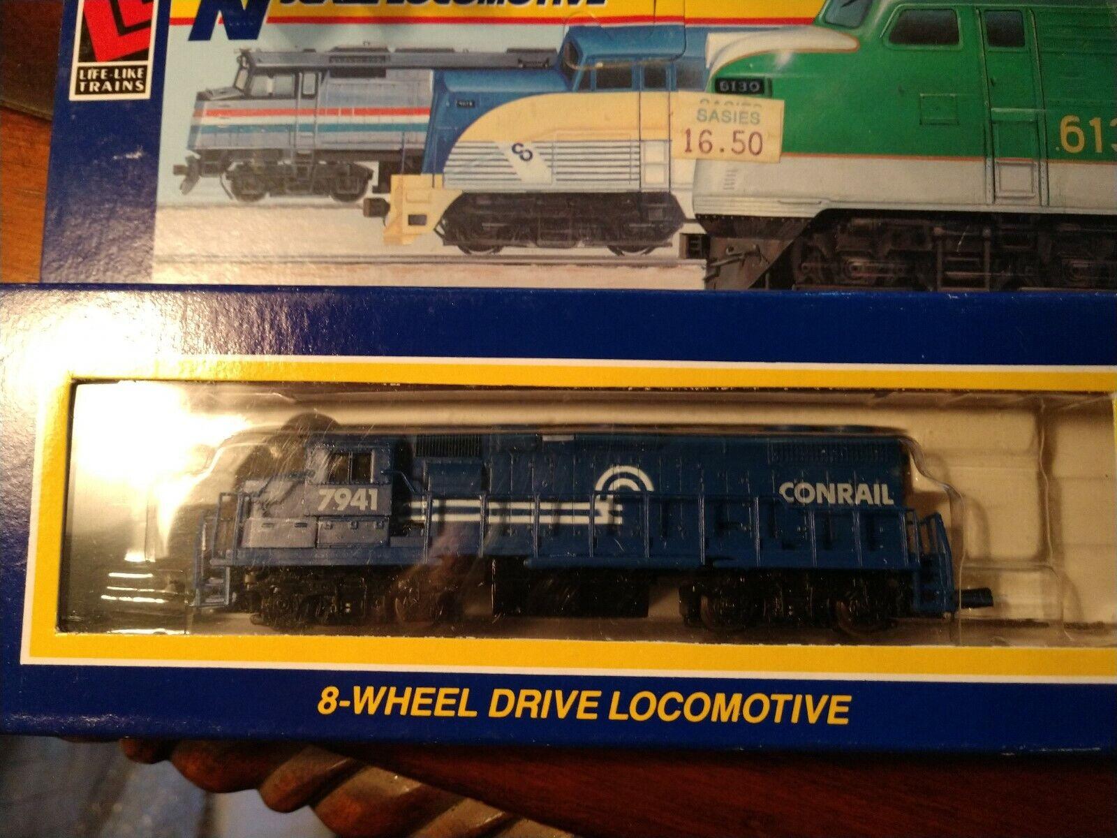 Life-Like N Scale Locomotive 7846 GP-38 Conrail