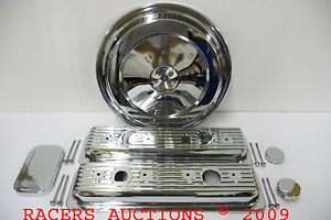 CHEVY-TRUCK-CHROME-ENGINE-DRESS-UP-KIT-88-92-350-305