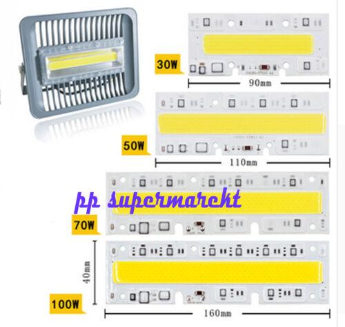 30W 50W 70W 100W 150W LED Floodlight COB Chip Integrated Smart IC Driver 110v