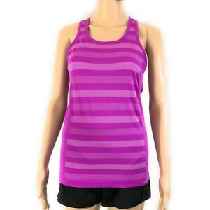 2236f11d2fcb Champion Womens Duo Dry Tank Sz X-Small Purple Racerback Sweat ...