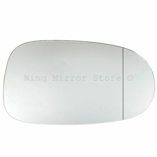 Right Driver Side WIDE ANGLE WING DOOR MIRROR GLASS For Nissan Almera 2000-2006