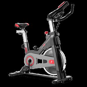 Bicicleta indoor FITFIU volante inercia 11kg pulsometro y LCD