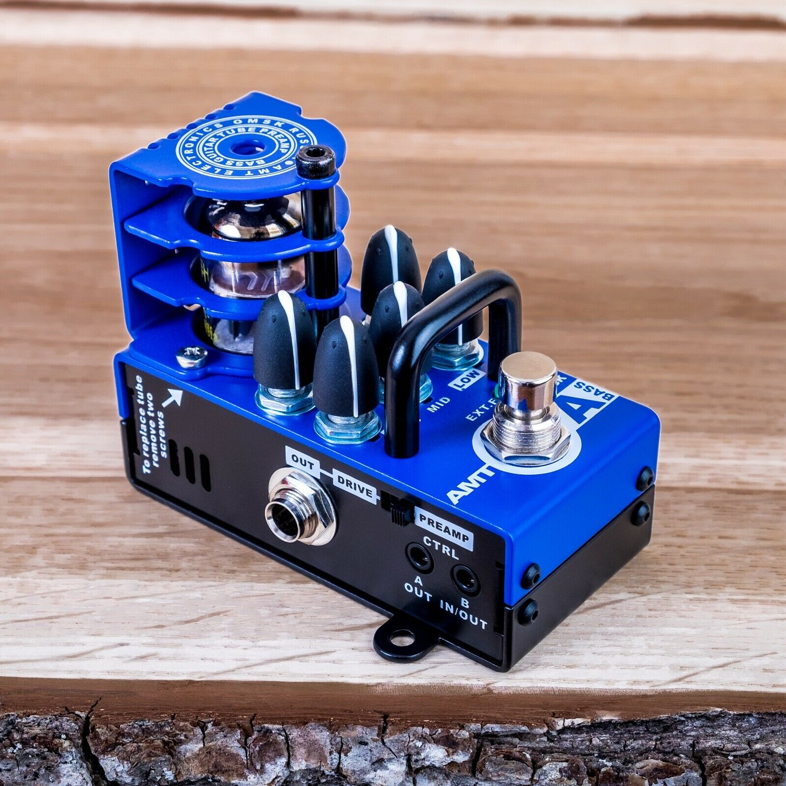 AMT Electronics Bricks A-Bass  (Alembic) - 1 channel tube guitar preamp