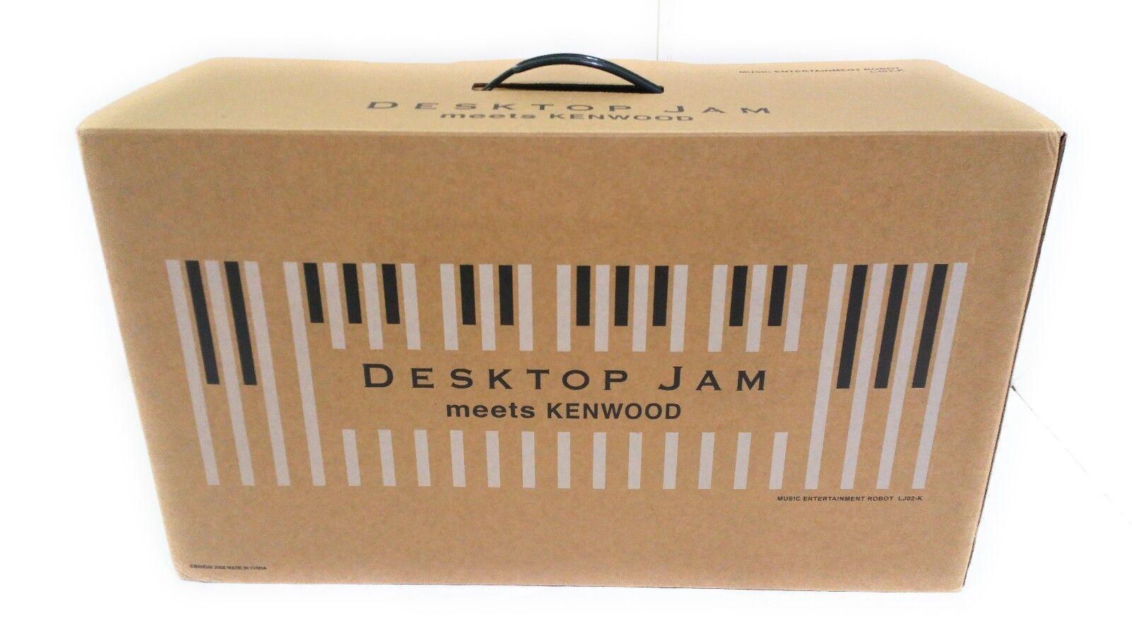 Desktop Jam meets KENWOOD - Entertainment Robot Playing Jazz Music Selection