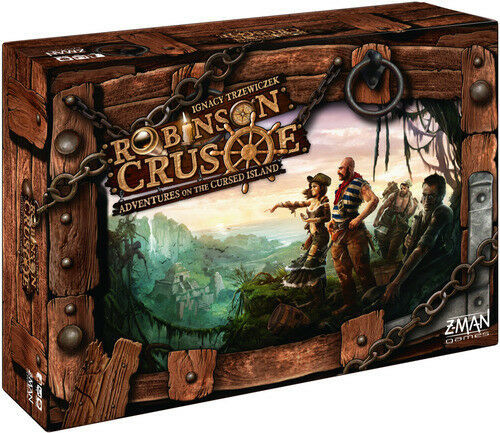 Robinson Crusoe  Adventure on the Cursed Island (First Edition) Board Game