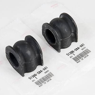 X AUTOHAUX 51306-S84-A01 Front Stabilizer Sway Bar Bushing Black for Honda Accord 1998-2002