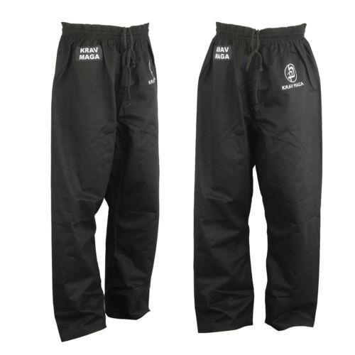 Krav Maga Noir Uni Pantalon Full Contact Entraînement Pantalon Entraînement